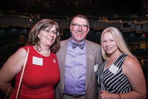 Melissa and Kevin Carlson with Holly Brians-Ragusa