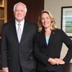 Ed Babbitt, secretary/treasurer, Western & Southern Financial Fund, with Kim Chiodi, senior vice president, public relations and corporate communications, Western & Southern Financial Group