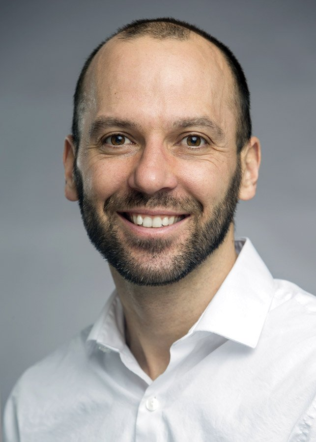 Patrick Ray, Ph.D., assistant professor, Department of Biomedical, Chemical and Environmental Engineering, College of Engineering and Applied Science