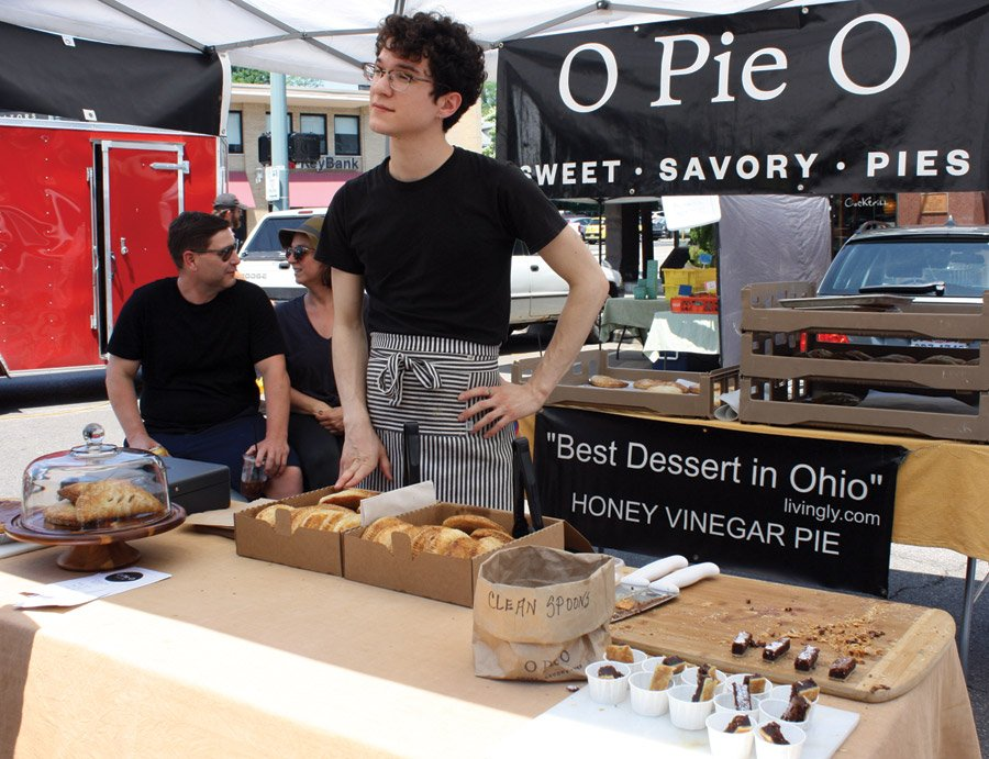 Hyde Park Farmers' Market - O Pie O offers sweet and savory pies made of seasonal ingredients. Visit early for the best selection.
