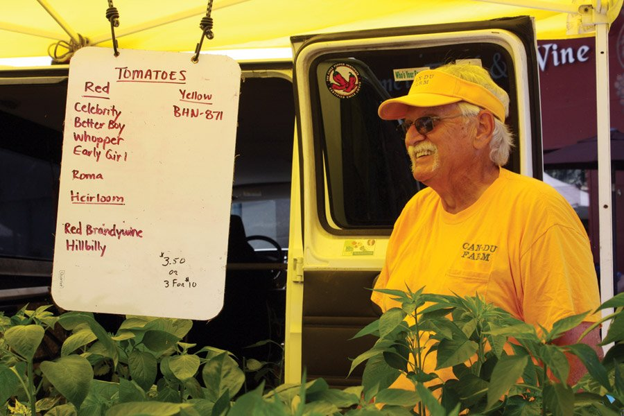 Hyde Park Farmers' Market - In 1993, Charlie and Vaunda Ernstes started Can-Du Farm with a small plot of peppers. Today, the farm near Bethel, Ohio, is a multi-generational family affair – even the grandchildren pick vegetables and assist customers on market days.