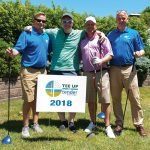 Tender Mercies Golf Chris Bartlett, Jeff Brown, John Crawford and Carter Hassman of AAA