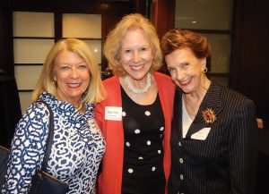 GCF Women of the Year Past honorees Marty Humes (2008), Ruthann Sammarco (2007) and Charlin Devanney-Briggs (2011)