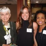 GCF Women of the Year Past honoree Alice Skirtz (1986), GCF senior philanthropic adviser Colleen McCarthy Blair and past honoree Miriam West (1995)