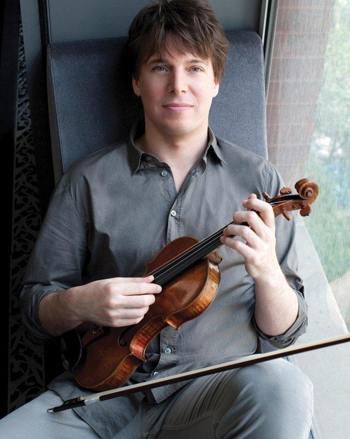 Violinist Joshua Bell (Photo: Marc Hom)
