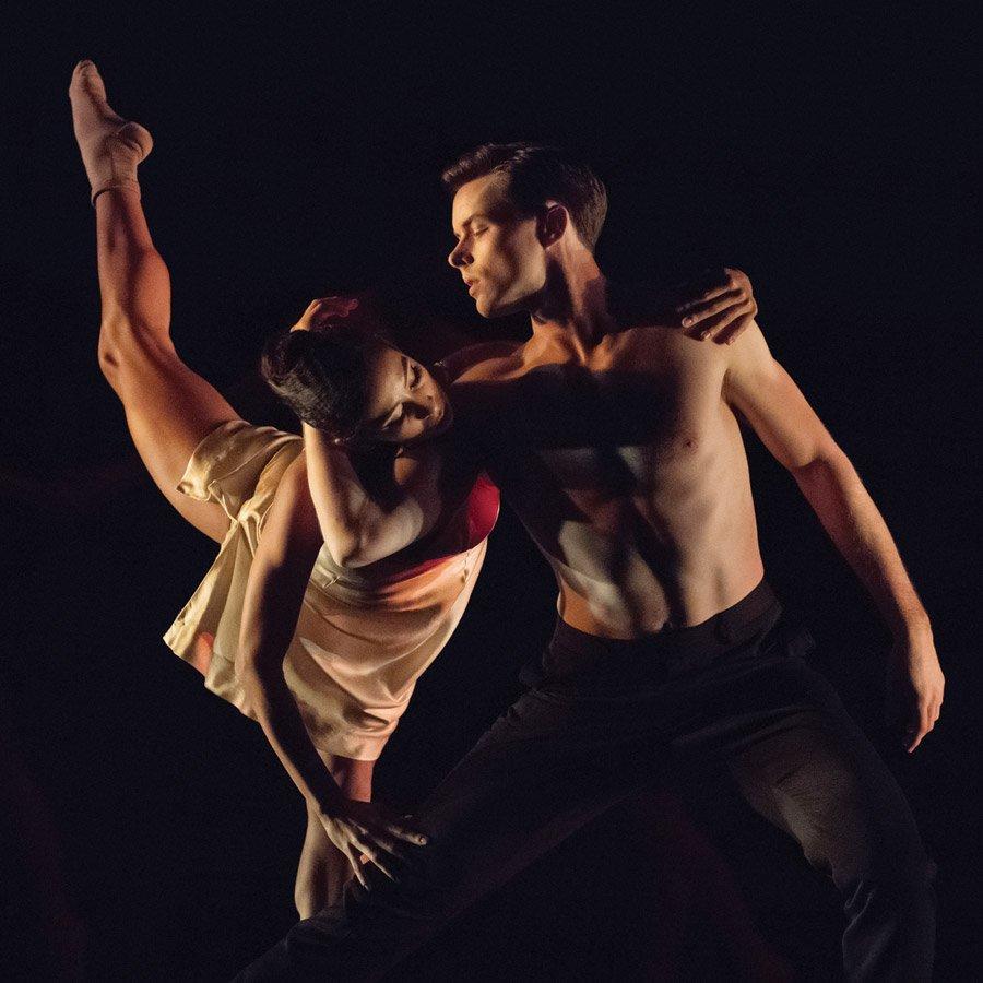 Cincinnati Ballet dancers Maizyalet Velázquez and David Morse (photo: Peter Mueller)