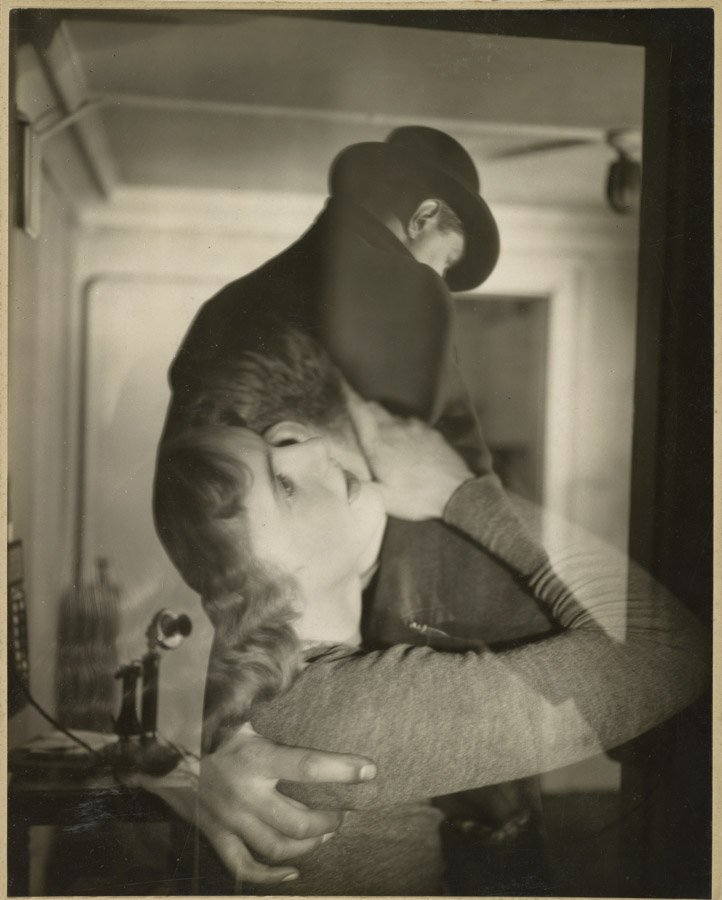 """Francis Bruguière, """"Couple Embraced,"""" 1929, courtesy of the J. Paul Getty Museum"""
