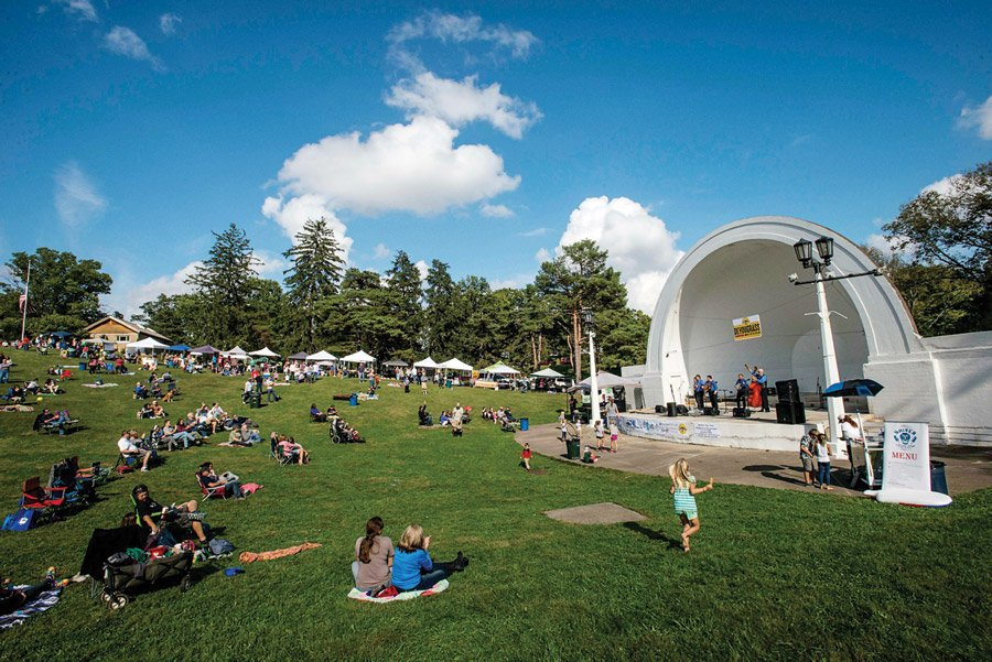The Band Shell at Devou Park