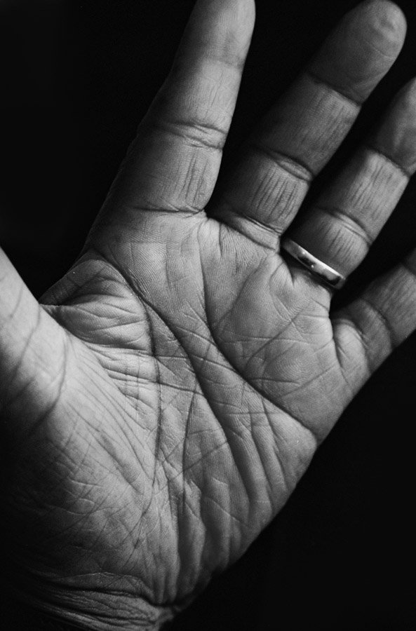 """""""Mandela: The Journey to Ubuntu"""" includes some of Willman's iconic images of Nelson Mandela's hands, which Mandela granted him rare access to capture."""